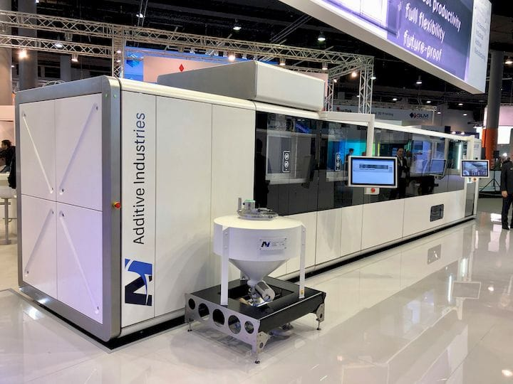 Additive Industries' METALFAB1 is the product of a very careful strategy [Source: Fabbaloo]