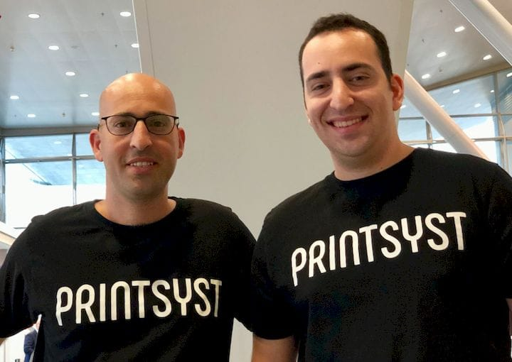 Itamar and Eitan Yona, the brothers behind PrintSYSt [Source: Fabbaloo]