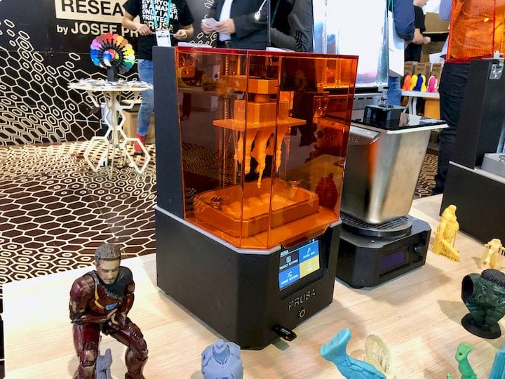 Prusa's new resin 3D printer [Source: Fabbaloo]