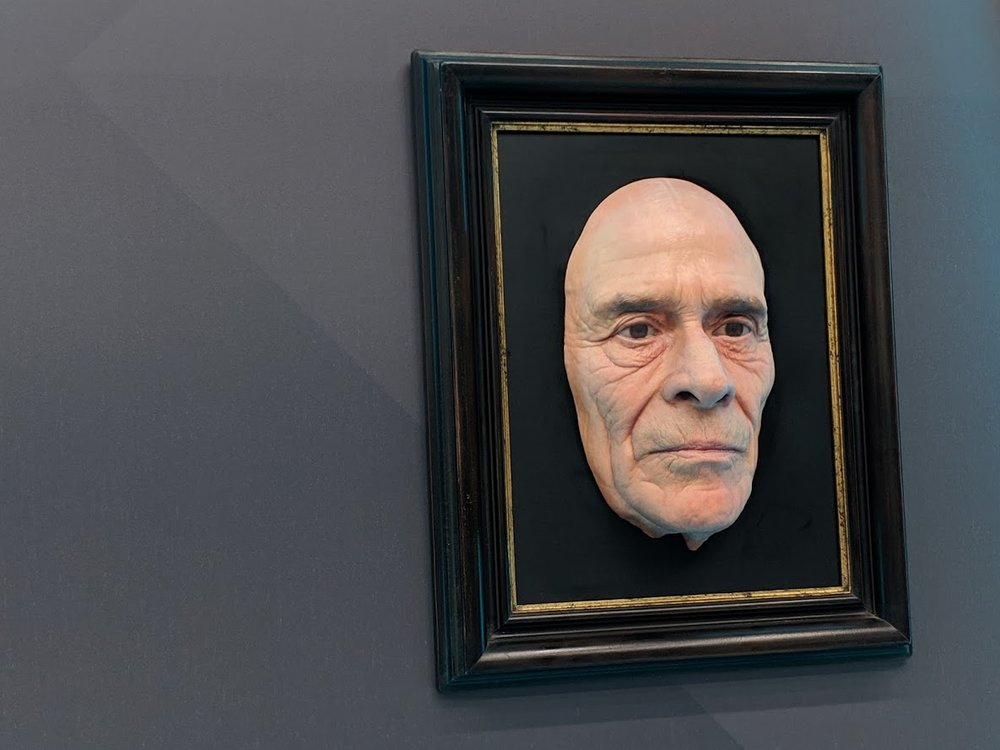 This finely detailed likeness drew a lot of attention at formnext [Image: Fabbaloo]
