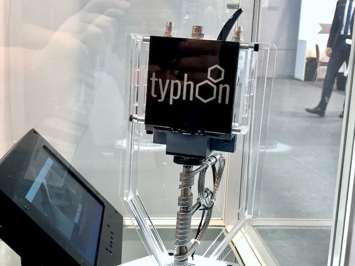 The Typhoon extrusion system from Dyze Design [Source: Fabbaloo]
