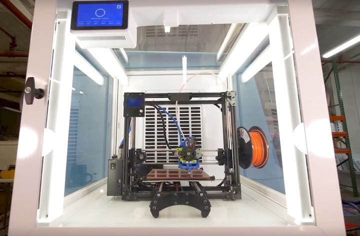 A powerful safety solution for 3D printers [Source: 3DPrintClean]