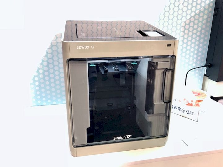The Sindoh 3DWOX 1X, an extended size 3D printer [Source: Fabbaloo]