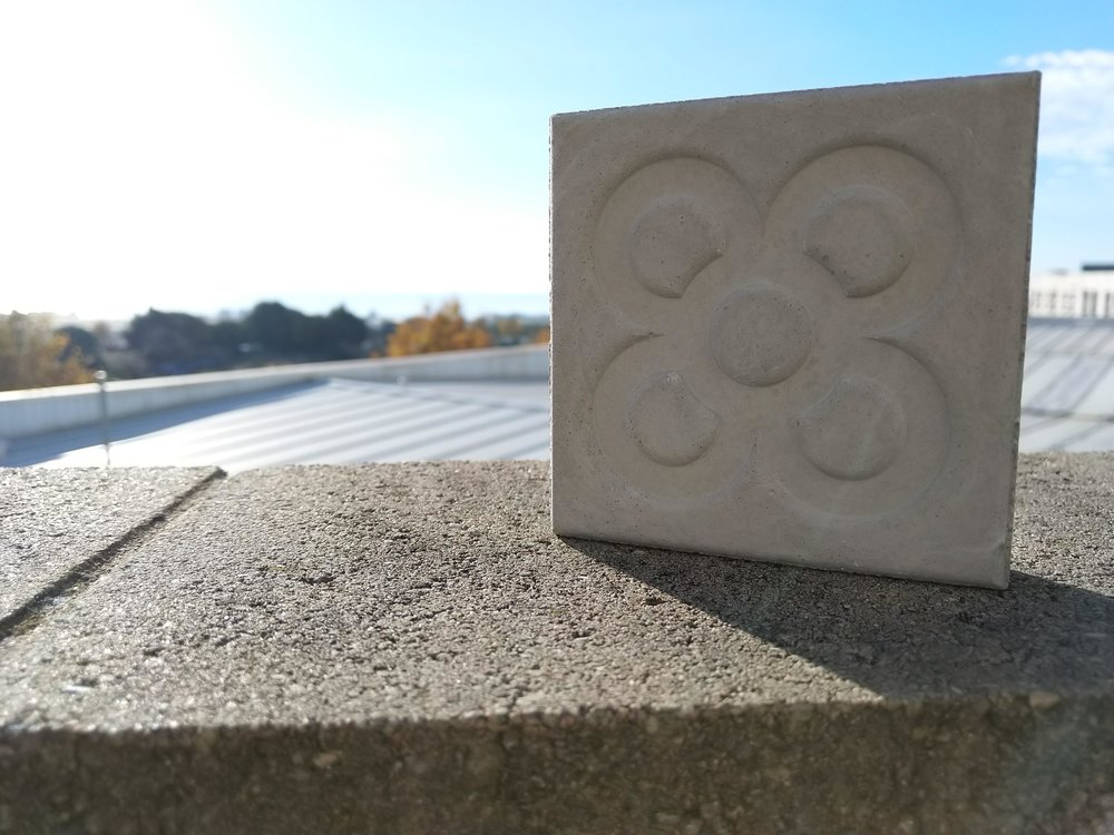 Concrete produced with 3D printing byproducts [Image: FICEP S3]