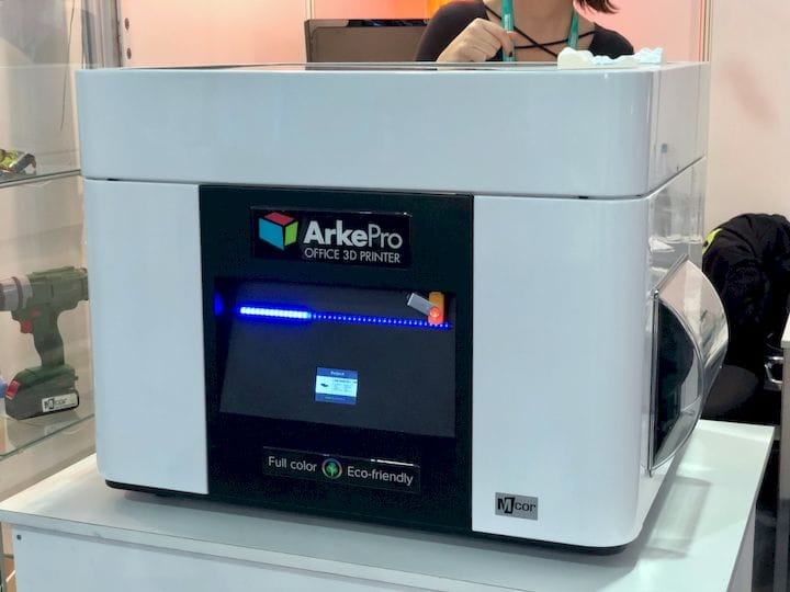 The new MCOR Technologies ARKePro full-color 3D printer [Source: Fabbaloo]