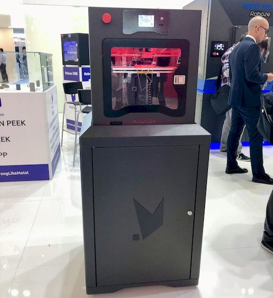 The new Roboze Xtreme series of high-temperature 3D printers [Source: Fabbaloo]