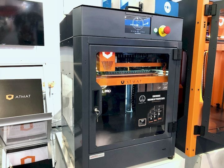 The ATMAT Signal Pro 3D printer [Source: Fabbaloo]