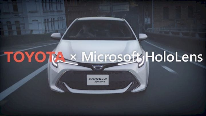 Toyota is using the HoloLens for 3D AR work [Source: SolidSmack]