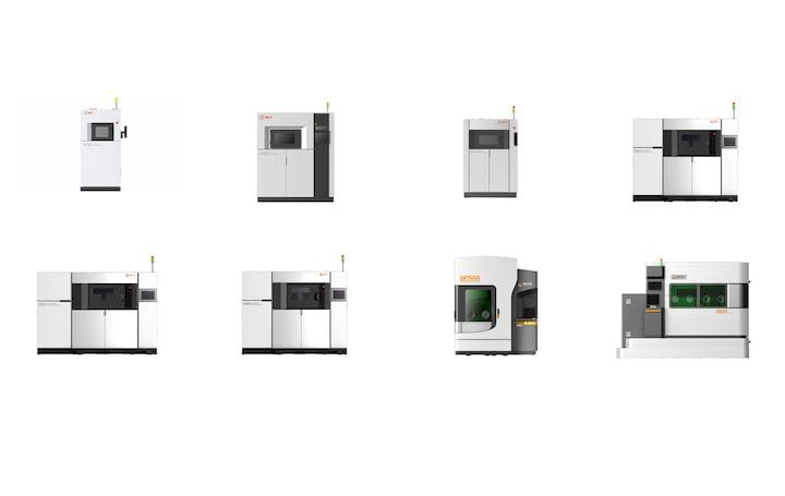 The BLT series of metal 3D printers offers many options [Source: Fabbaloo]