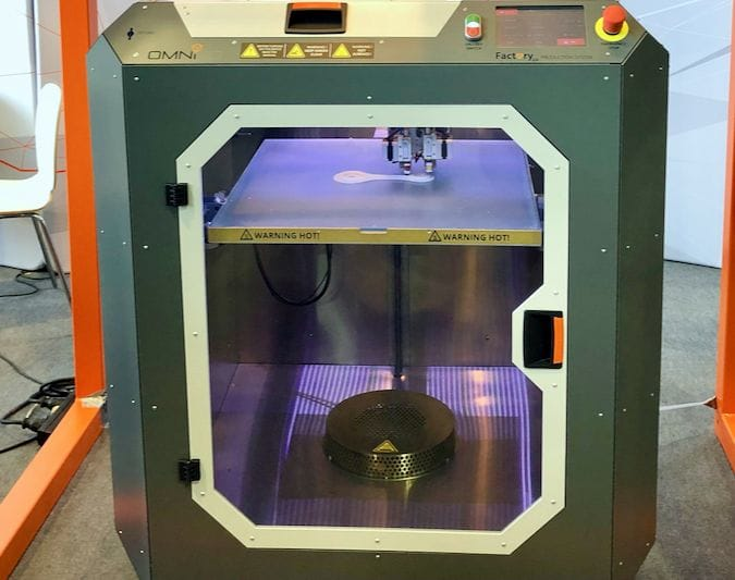 The new Omni3D Factory 2.0 industrial 3D printer [Source: Fabbaloo]