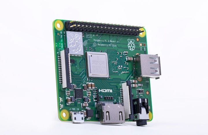 The Raspberry Pi 3 Model A+ [Source: SolidSmack]