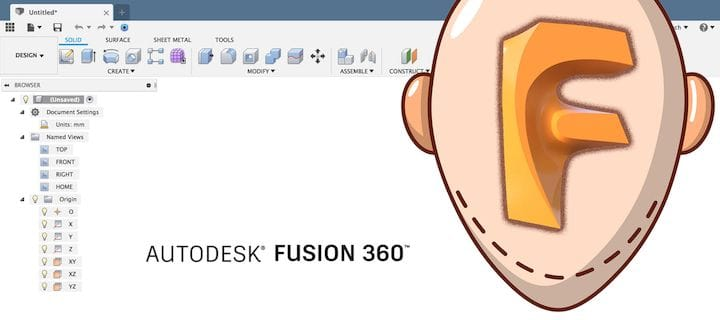 New interfaces for Autodesk Fusion 360 [Source: SolidSmack]