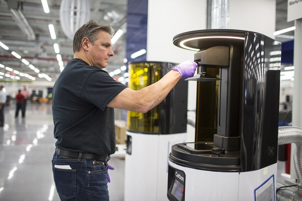 Carbon 3D printers installed at Ford's Advanced Manufacturing Center [Image: Ford Motor Company]