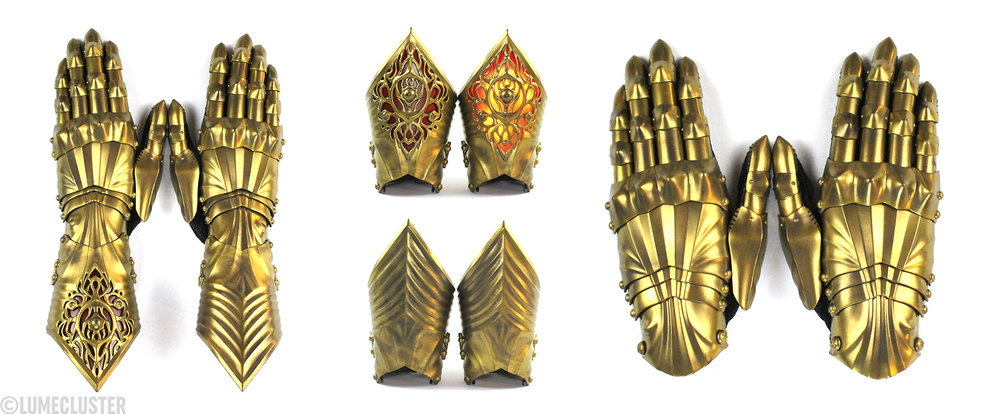 A look at how the Phoenix Gauntlet can be taken apart and offer more styling options [Image: Lumecluster]