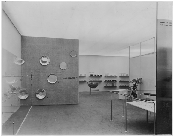 """Machine Art"" Exhibit from 1934 [Source:  MoMA ]"