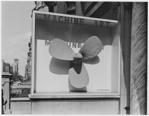 1934 Machine Art Exhibit – Propeller [Source:  MoMA ]