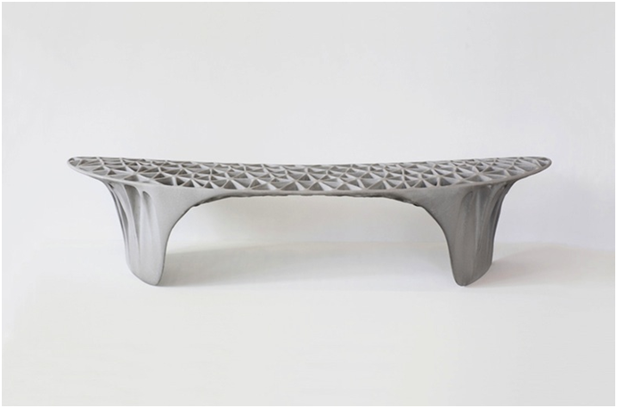 3D Printed Sedona Bench by Janne Kyttanen (Source:  Janne Kyttanen )
