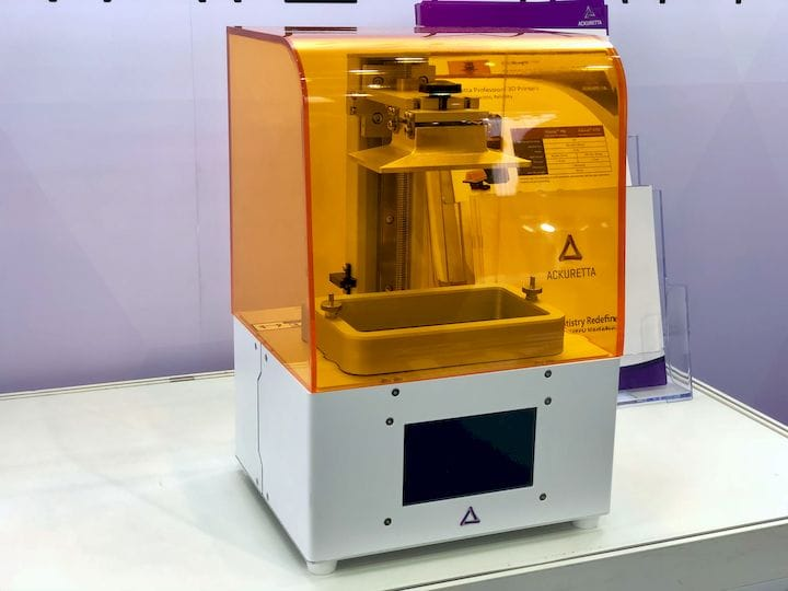 The new Ackuretta FreeShape 120 high resolution 3D printer [Source: Fabbaloo]