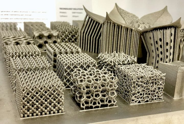 Some finely detailed metal 3D prints made by 3D Systems [Source: Fabbaloo]