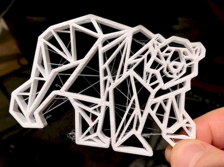"""Pro Tip: An Easy Way To Remove """"Stringies"""" From Your 3D Print [Source: Fabbaloo]"""
