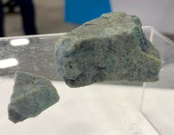 The winner of a full color 3D printing design challenge - a rock! [Source: Fabbaloo]