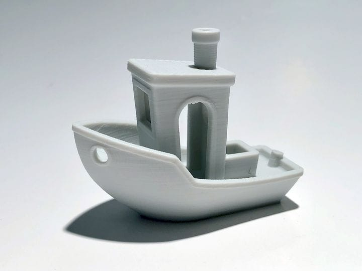 A reasonably well-printed #3DBenchy [Source: Fabbaloo]