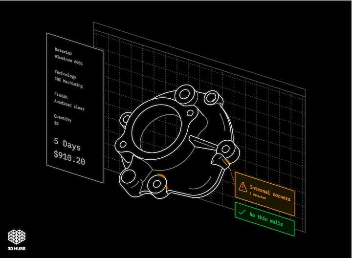 Improvements may be coming to 3D Hubs' interfaces and process [Source: 3D Hubs]