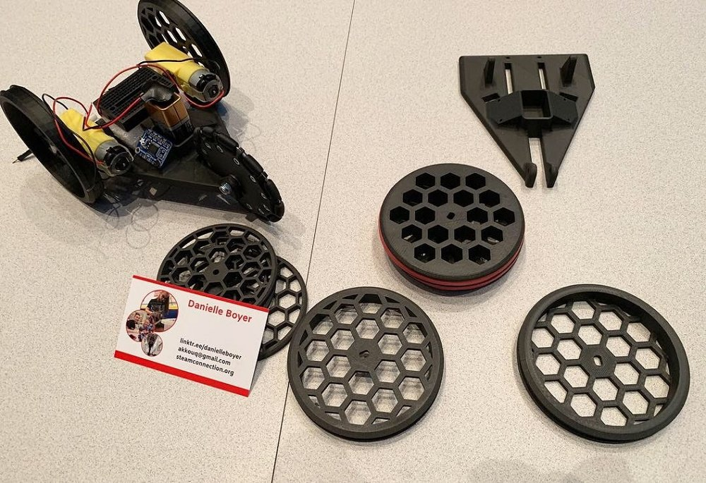 Every Kid Gets a Robot parts [Image: Danielle Boyer]