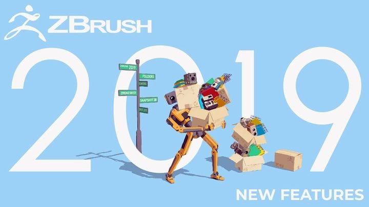 ZBrush 2019 Focuses on Optimizing the Digital Sculptor's Workflow