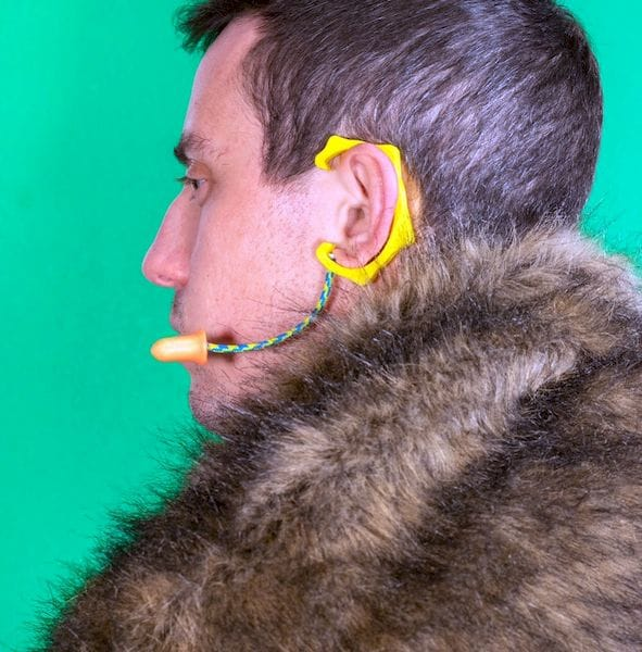 Avoid hearing GOT spoilers by wearing the Plug of Thrones [Source: Matt Benedetto]