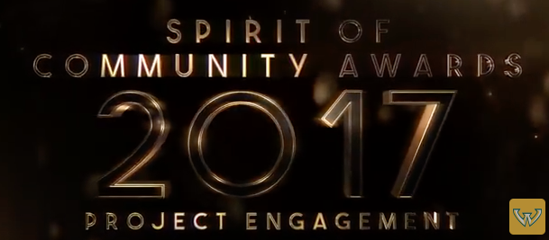 Spirit of Community Awards 2017 - Project Engagement - Mar 2017