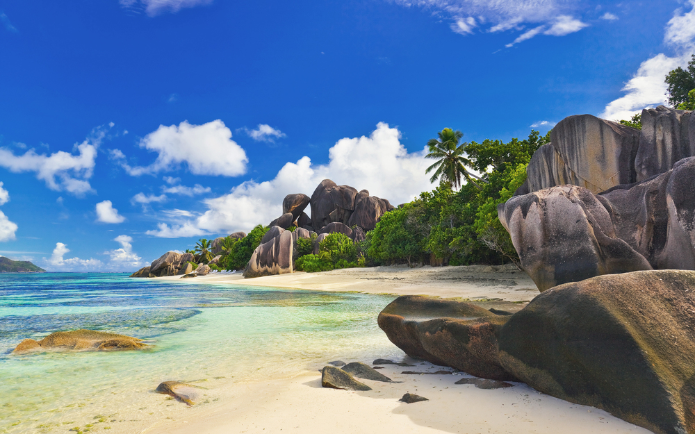 A gorgeous Seychelles Beach