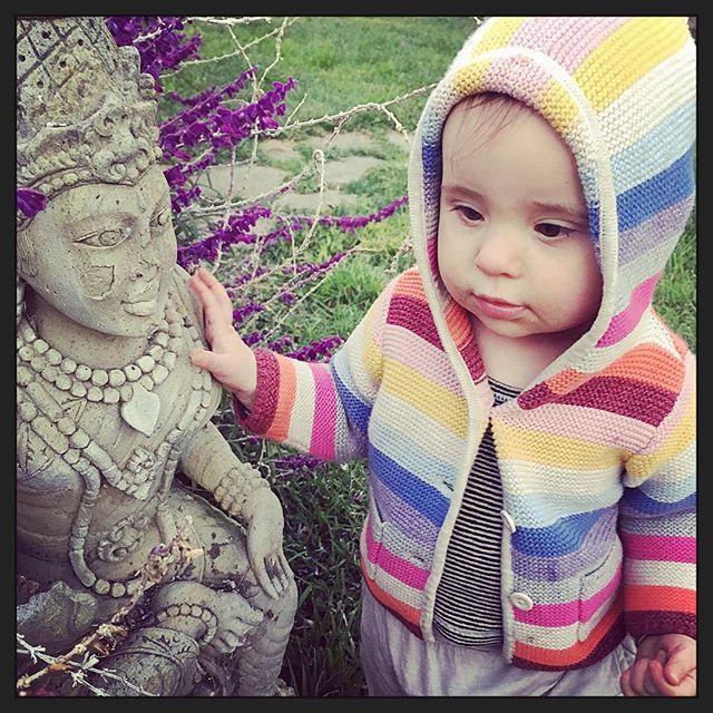 #om little one #iloveyou #sweetness