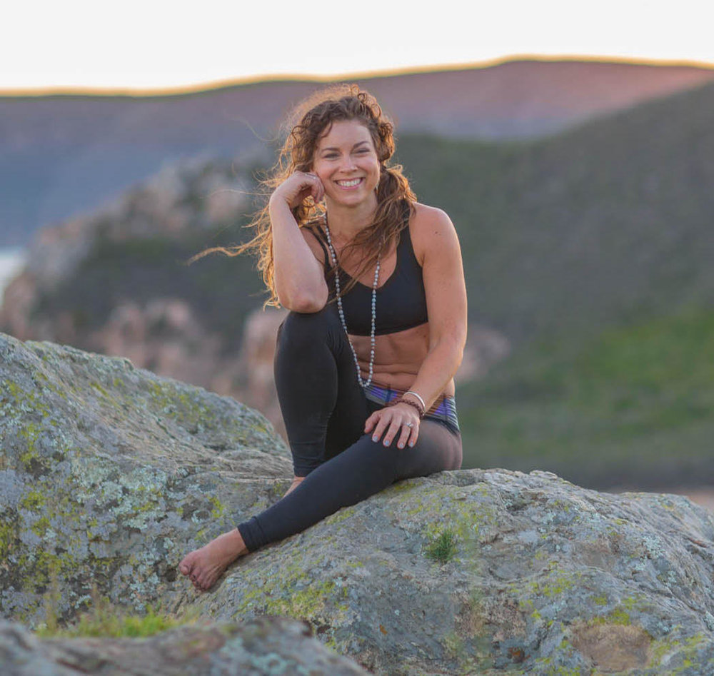 "Leslie St.John   Leslie St. John is a self-expression muse, helping people get ""unstuck."" Using the modalities of yoga, Qoya, and writing, she helps people unshackle creativity, feel their bodies as allies, and cultivate more self-intimacy. She is creator of Prose and Poses and offers yoga and writing retreats (Upcoming retreats at Sagrada and the Mayan Riviera). She holds an MFA in poetry from Purdue University and is author of  Beauty Like a Rope . Her writing is published in  Elephant Journal, Teach.Yoga, Yoga Revolutionaries, Apersus Quartery, Oxford American, Rebelle Society,  and  Verse Daily.  She teaches Literature at Cal Poly. A 500hr RYT, she has studied with Tias Little, Noah Maze, and Rocky Heron. Her classes have been described as ""Sweaty and Spiritual."" Be prepared to move. Deepen your connection to your true self. You can find her writing at a café, hunting vintage shops, or hiking with her beagle Lucy in the hills of San Luis Obispo.    <<Learn more>>"