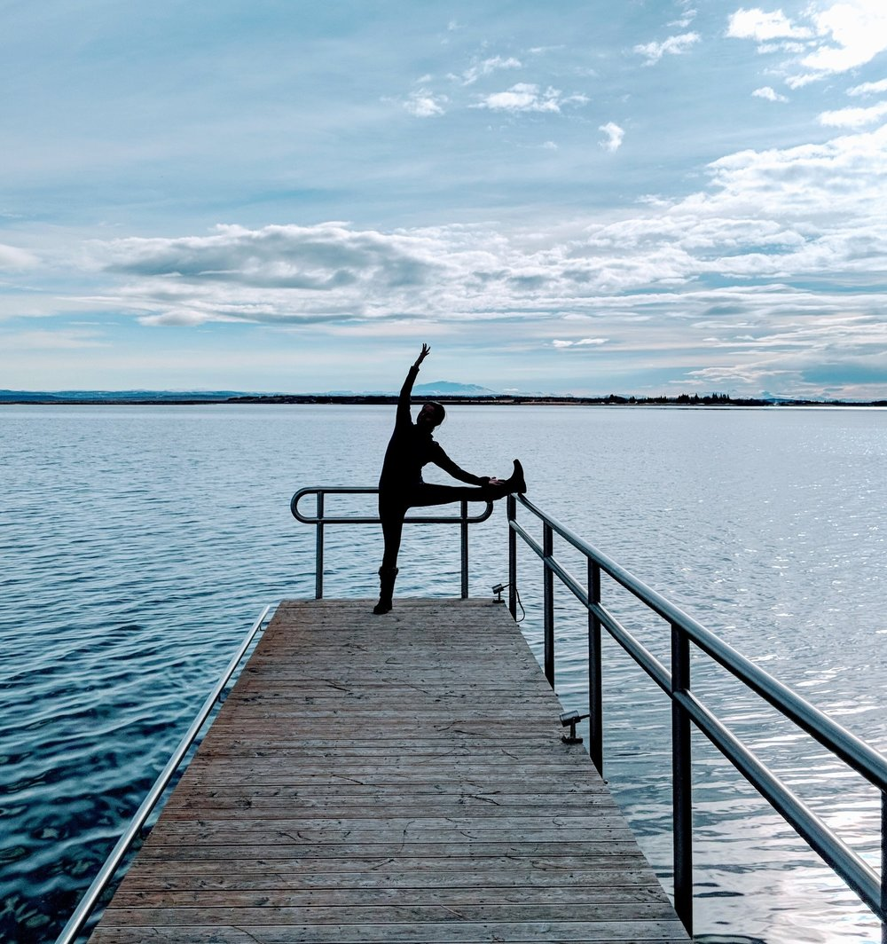 a symphony of elements - crisp clean air and cinematic landscapesyoga dreamland