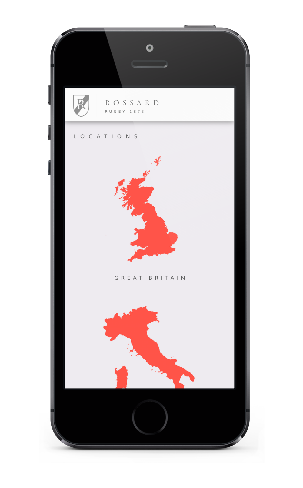 Rossard iPhone App 4.png