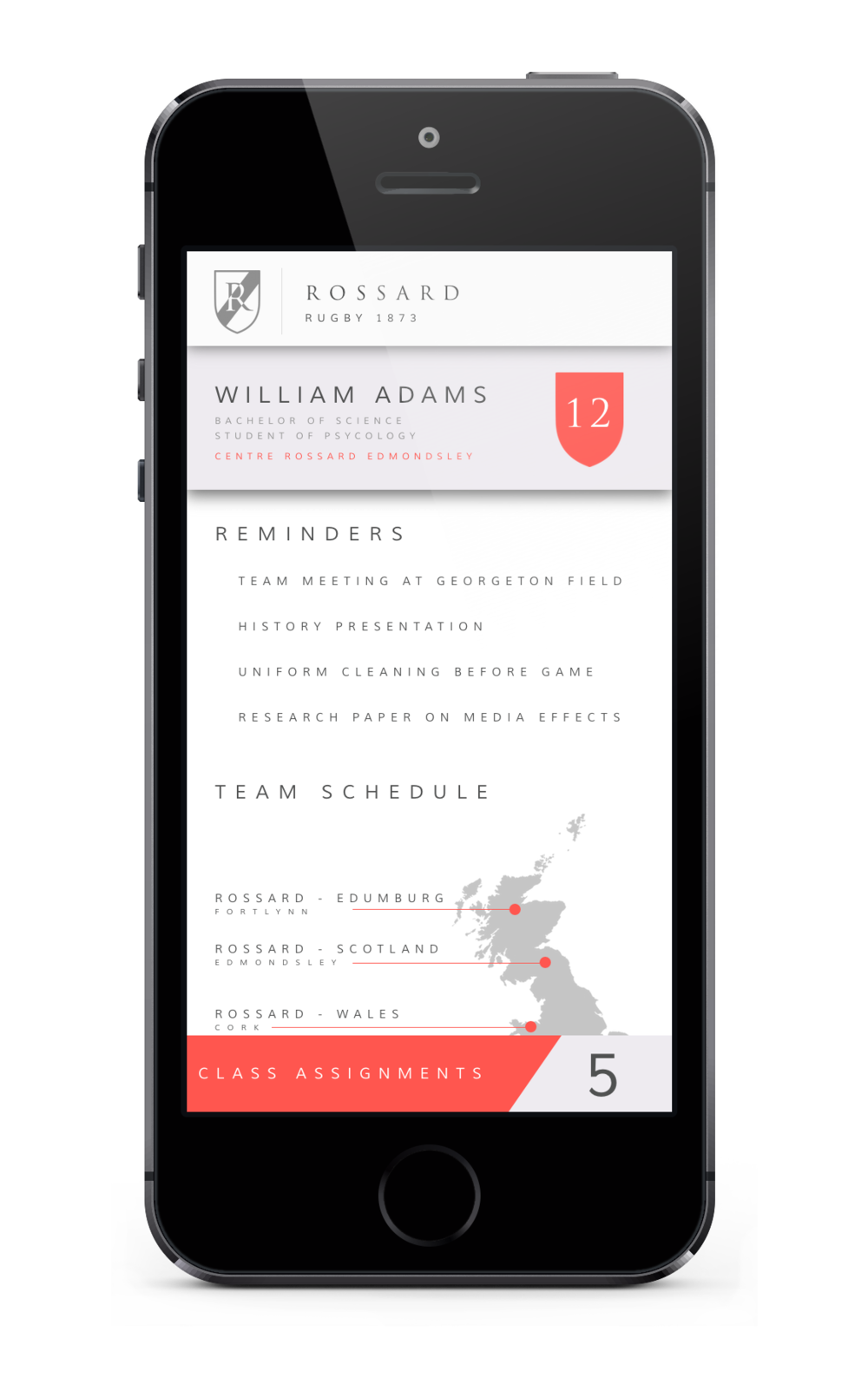 Rossard iPhone App 6.png