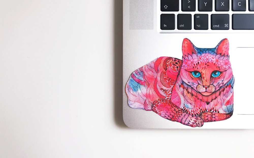 Macbook stickers - CUSTOMIzE YOUR MACWITH YOUR FAVORITE ANIMALS