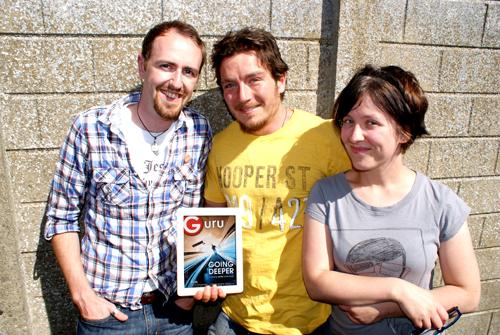 The Guru Mag Founding Team (photo credit: Guru Magazine)