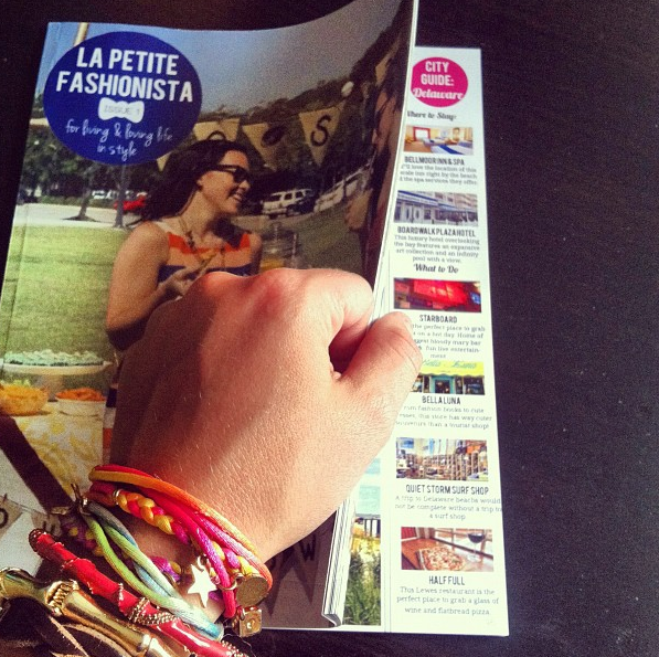 La Petite Fashionista Magazine, printed by Peecho (photo credit: La Petite Fashionista)