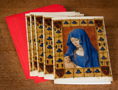 Maria, by Jean Fouquet - Greeting Cards printed by Peecho (Photo credit: KB)