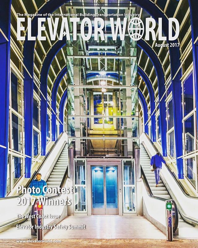 Awesome! We won! Working with @thyssenkrupp and @movaresjongtalent, first prize in the @elevatorworld photo contest! It's a great design and I feel honoured that my photographs showed this project to the world and to  be part of the team that made it happen :-)