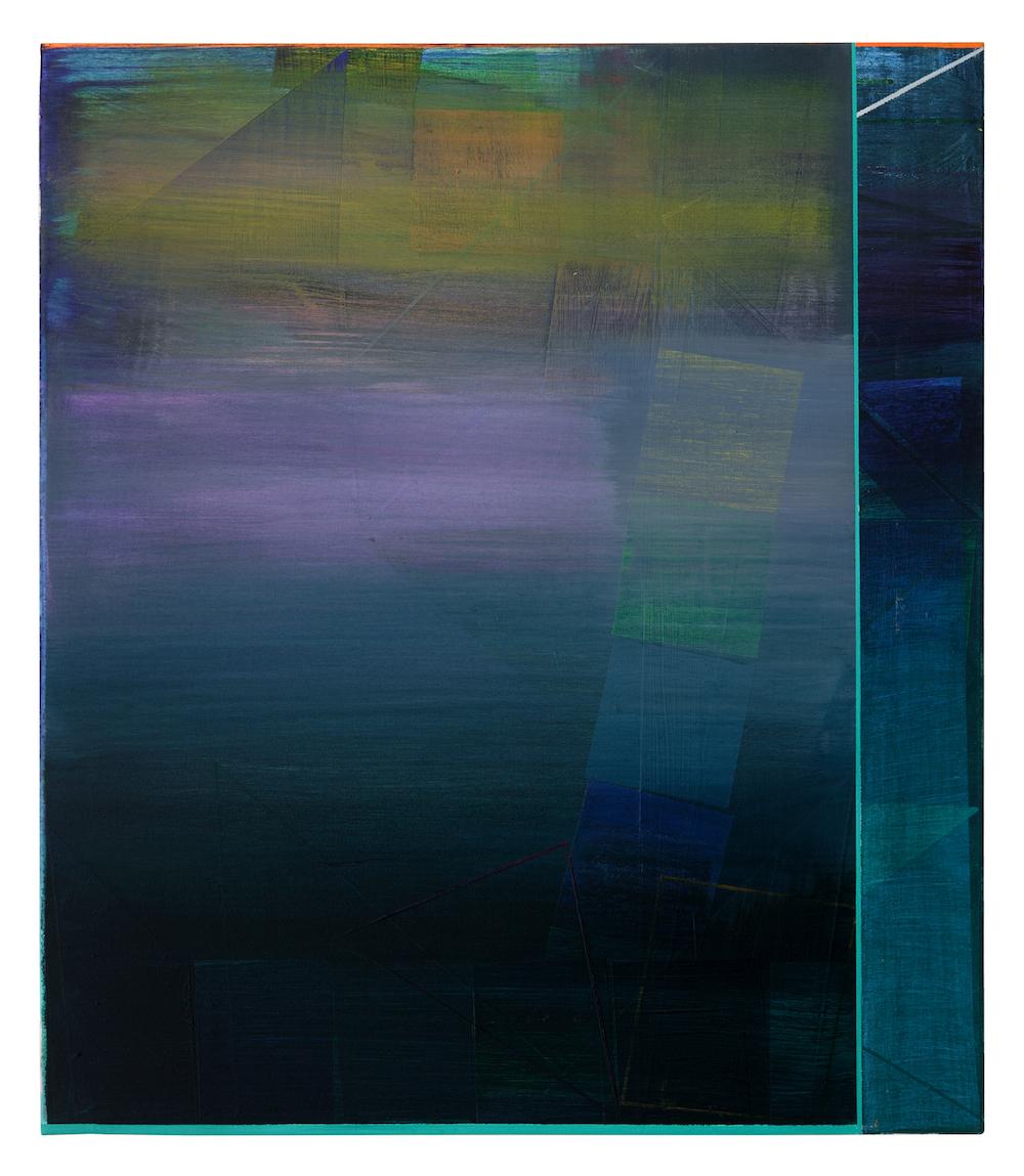 76 · 70 x 60 cm  · Acryl, Pigment auf Leinwand , 2009