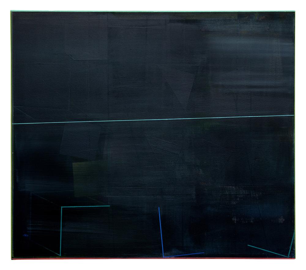 o.T .  · 70 x 80 cm · Acryl, Pigment auf Leinwand, 2010