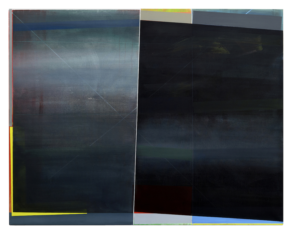o.T . · 200 x 250 cm · Acryl, Pigment auf Leinwand, 20  10