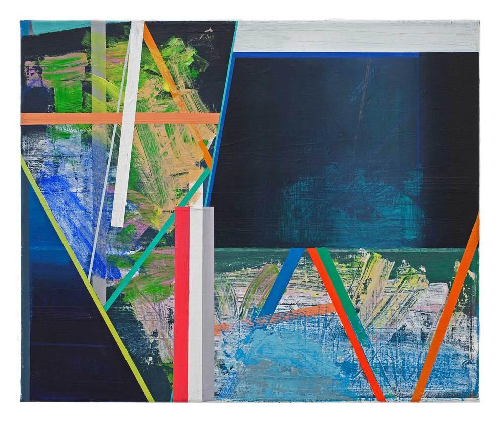 AAA   · 50 x 60 cm · Acryl, Pigment auf Leinwand, 2012