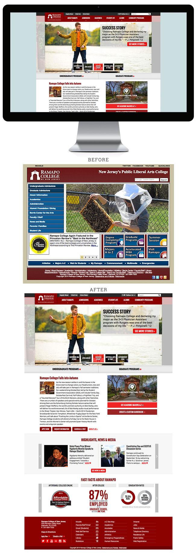 ramapo web self service
