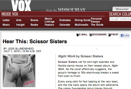 Hear This: Scissor Sisters