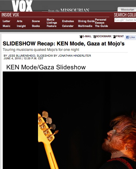 SLIDESHOW Recap: KEN Mode, Gaza at Mojo's