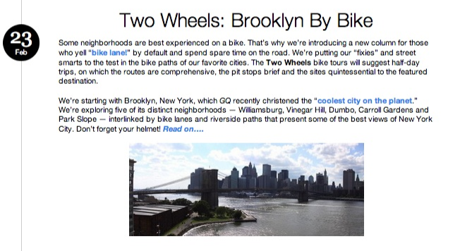TWO WHEELS: Brooklyn by Bike